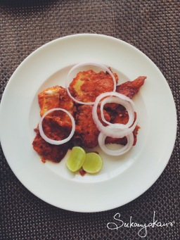 Tawa Fried Fish