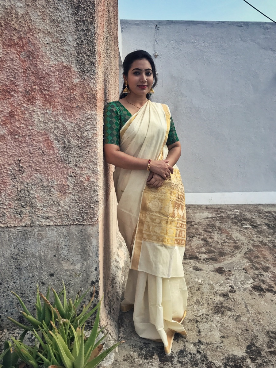 My look for this Onam